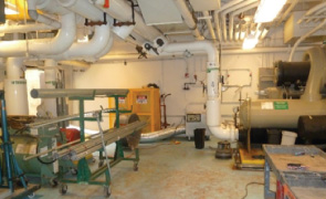 FAA ARTCC Control Wing Basement and Major Mechanical Sustain